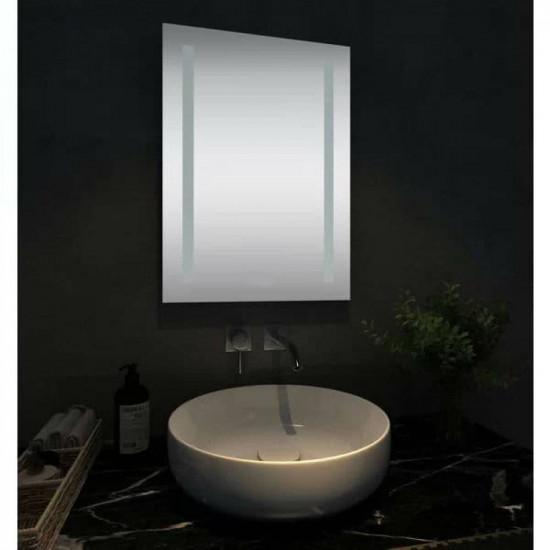 Прямоугольное зеркало с LED подсветкой Стокгольм Холодный свет в интернет-магазине ROSESTAR фото