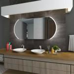 Зеркала с подсветкой 130 см
