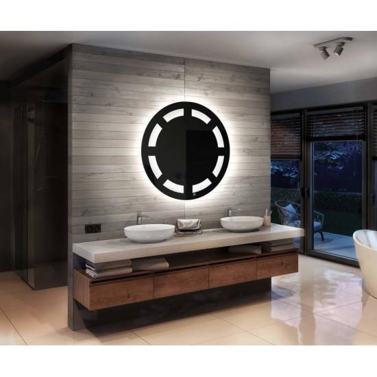Круглое зеркало с задней LED подсветкой Андреа в интернет-магазине ROSESTAR фото