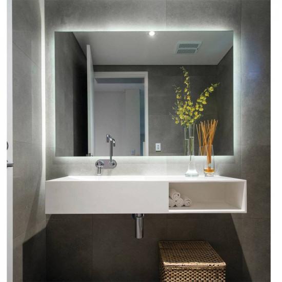 Зеркало с задней подсветкой Далтон в интернет-магазине ROSESTAR фото