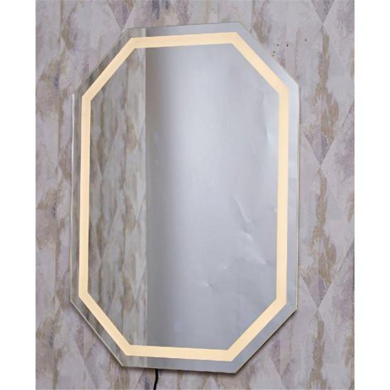 Восьмиугольное зеркало с LED подсветкой Джустер 2 в интернет-магазине ROSESTAR фото