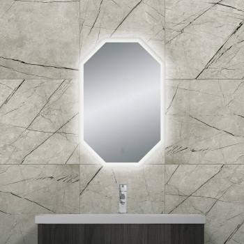 Восьмиугольное зеркало с LED подсветкой Джустер