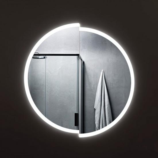 Круглое зеркало с LED подсветкой Элара в интернет-магазине ROSESTAR фото