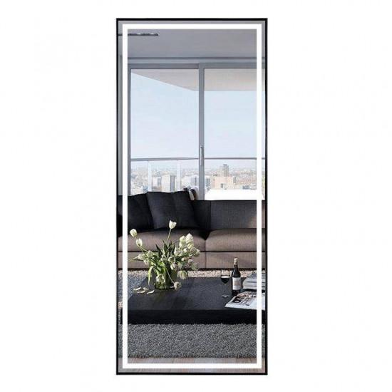 Зеркало большое напольное и настенное в полный рост с LED подсветкой Эмили в интернет-магазине ROSESTAR фото