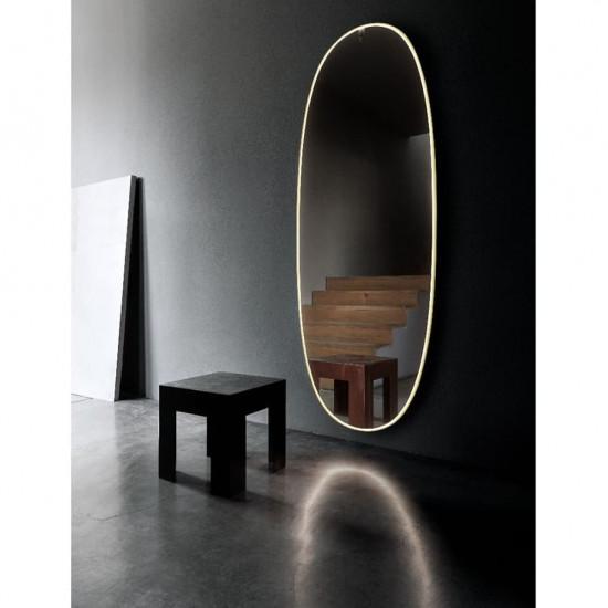 Овальное настенное зеркало со светодиодной LED-подсветкой Джейд в интернет-магазине ROSESTAR фото