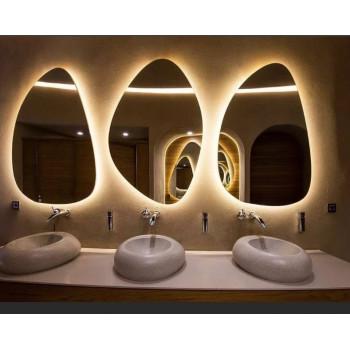 Зеркало Капля с подсветкой