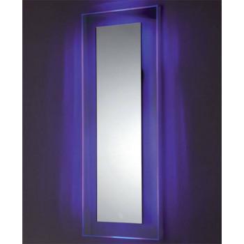 Зеркало на стеклянном основании с подсветкой Сияние 2