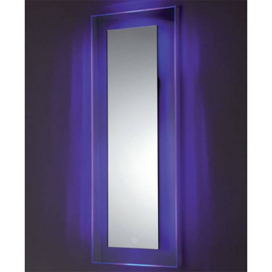 Зеркало на стеклянном основании с подсветкой Сияние 2 в интернет-магазине ROSESTAR фото