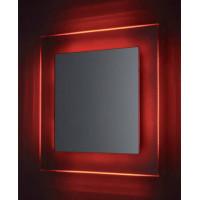 Зеркало на стеклянном основании с подсветкой Сияние