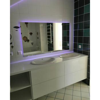 Зеркало с LED подсветкой Сирена