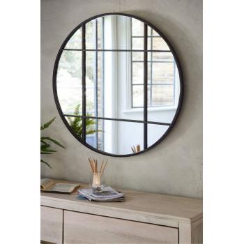 Круглое зеркало-окно Лорен