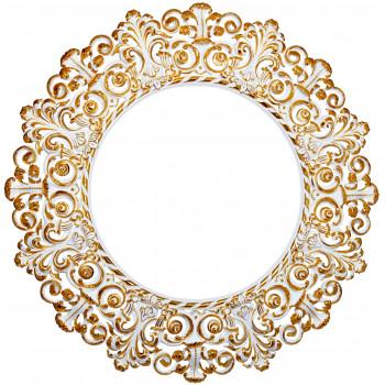 Круглое зеркало в раме «Адели»