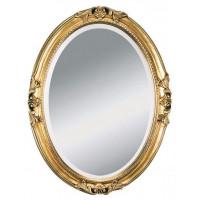Зеркало овальное настенное в багетной раме «Амьен»