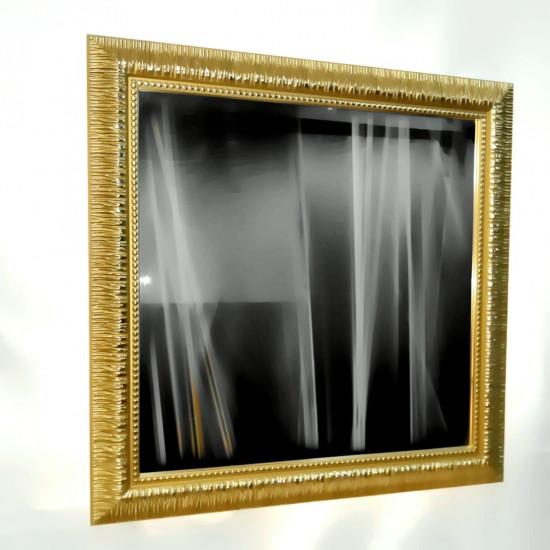 Зеркало настенное в багете «Новелла» Золото в интернет-магазине ROSESTAR фото