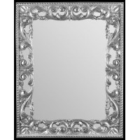 Зеркало прямоугольное настенное в багете «Ивелин»