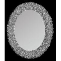 Зеркало овальное настенное в багетной раме «Ла-Рошель»