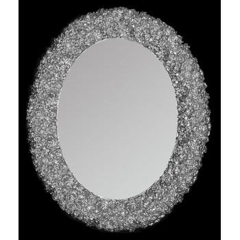 Зеркало овальное настенное в раме «Ла-Рошель»