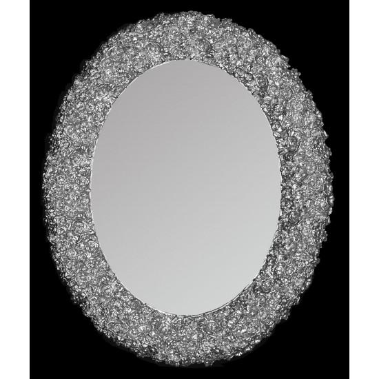 Зеркало овальное настенное в раме «Ла-Рошель»  в интернет-магазине ROSESTAR фото
