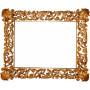 Зеркало прямоугольное настенное в багете «Монруж»  в интернет-магазине ROSESTAR фото