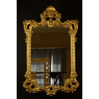Фигурное зеркало в багете «Монтришар»