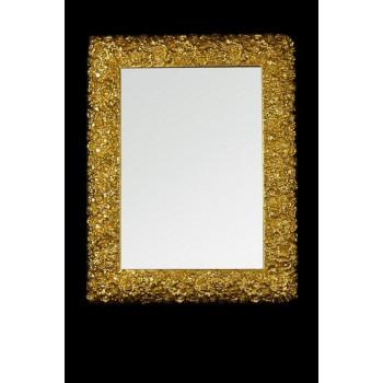 Зеркало прямоугольное в золотом багете «Роан»