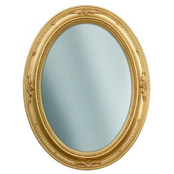 Зеркало овальное настенное в раме «Сен-Дени»