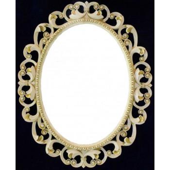 Зеркало овальное настенное в раме «Сент-Этьен»