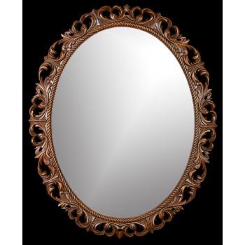 Зеркало овальное настенное в раме «Венсен»