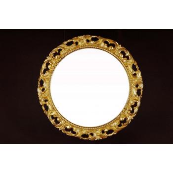 Круглое зеркало в багете «Жозефин»