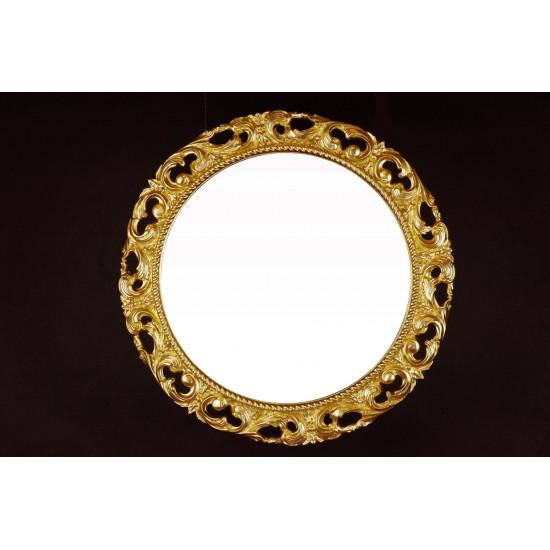 Круглое зеркало в раме «Жозефин» в интернет-магазине ROSESTAR фото