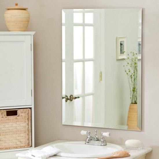 Прямоугольное зеркало с фацетом Леона в интернет-магазине ROSESTAR фото