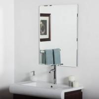 Прямоугольное зеркало с фацетом Магнолиа