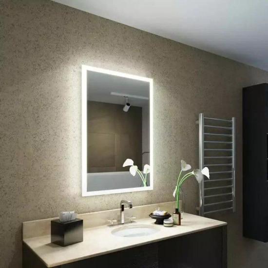 Прямоугольное зеркало с LED подсветкой Дейн в интернет-магазине ROSESTAR фото