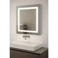 Квадратное зеркало с LED подсветкой Алана
