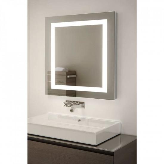 Квадратное зеркало с LED подсветкой Алана в интернет-магазине ROSESTAR фото