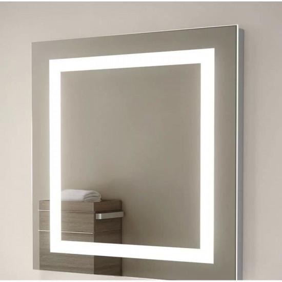 Квадратное зеркало с LED подсветкой Alana в интернет-магазине ROSESTAR фото