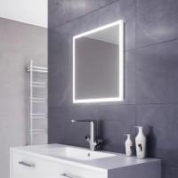 Квадратное зеркало с LED подсветкой Alize