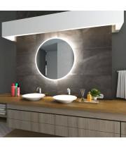 Круглое зеркало с LED подсветкой Арена Холодный свет