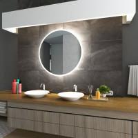 Круглое зеркало с LED подсветкой Arena Холодный свет