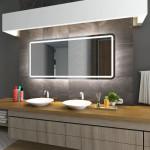 Большие зеркала в ванную