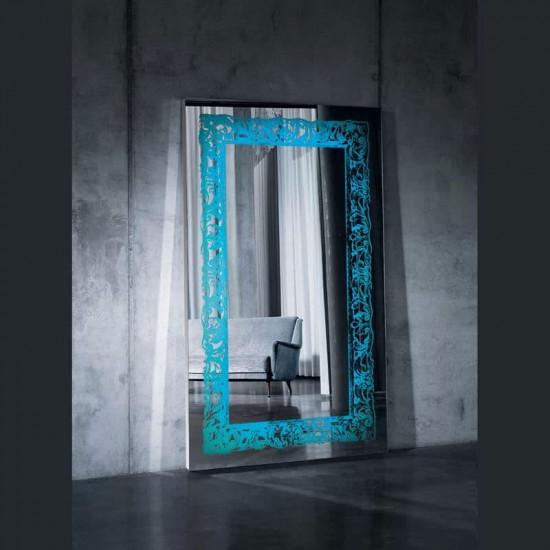 Большое напольное и настенное зеркало с LED подсветкой в полный рост Катрин в интернет-магазине ROSESTAR фото