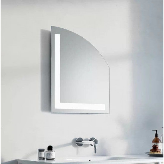 Геометрическое зеркало с LED подсветкой Габриэлла в интернет-магазине ROSESTAR фото