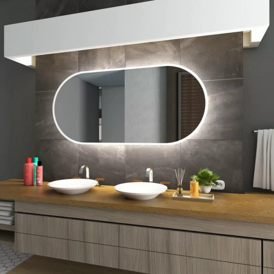 Зеркало с LED подсветкой Leipzig в интернет-магазине ROSESTAR фото