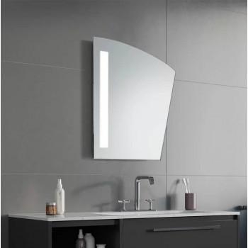 Геометрическое зеркало с LED подсветкой Лерой