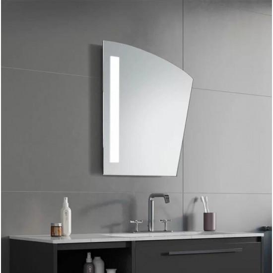 Геометрическое зеркало с LED подсветкой Leroy в интернет-магазине ROSESTAR фото