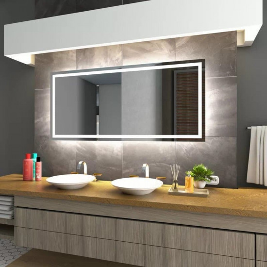 Зеркало с LED подсветкой München в интернет-магазине ROSESTAR фото