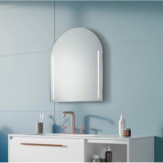 Геометрическое зеркало с LED подсветкой Maxey в интернет-магазине ROSESTAR фото
