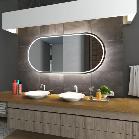 Зеркало с LED подсветкой Nizza в интернет-магазине ROSESTAR фото