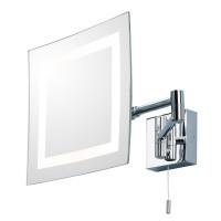 Зеркало косметическое настенное с подсветкой и с увеличением А0355