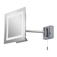 Зеркало косметическое настенное с подсветкой и с увеличением А0485